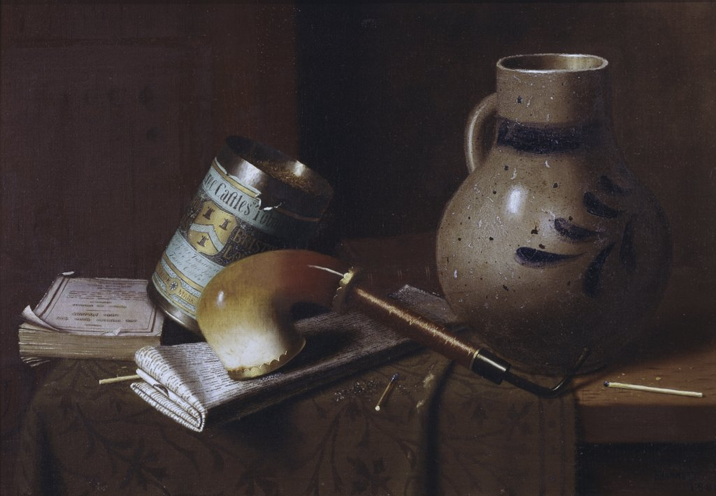 Stock Photo: 900-112346 Still Life With Three Castles Tobacco #2A
