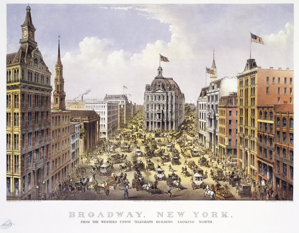 Stock Photo: 900-1141 Broadway New York