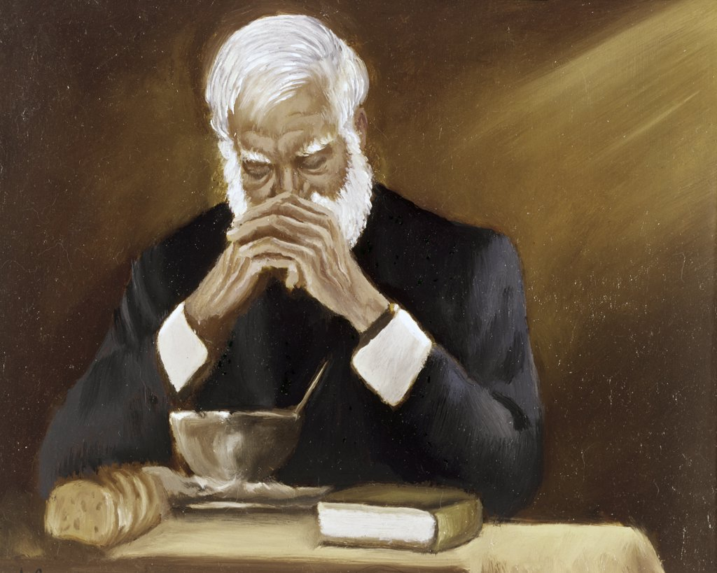 Stock Photo: 900-116067 Give Us Our Daily Bread by Anthony Gruerio, 20th Century