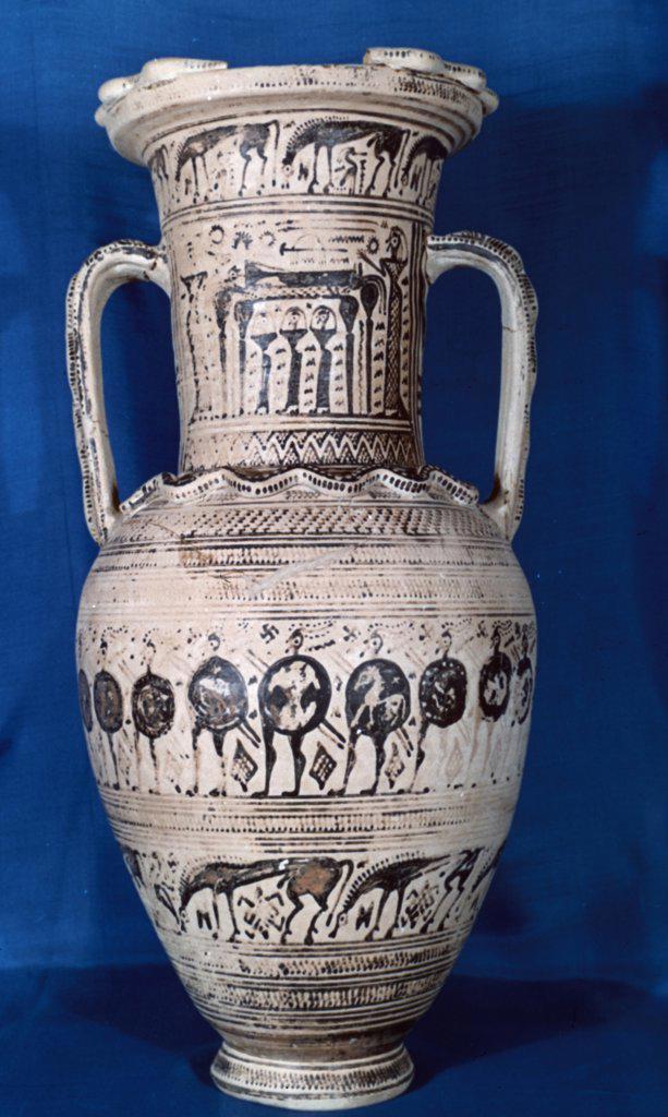 Stock Photo: 900-119759 Ancient Greek amphora