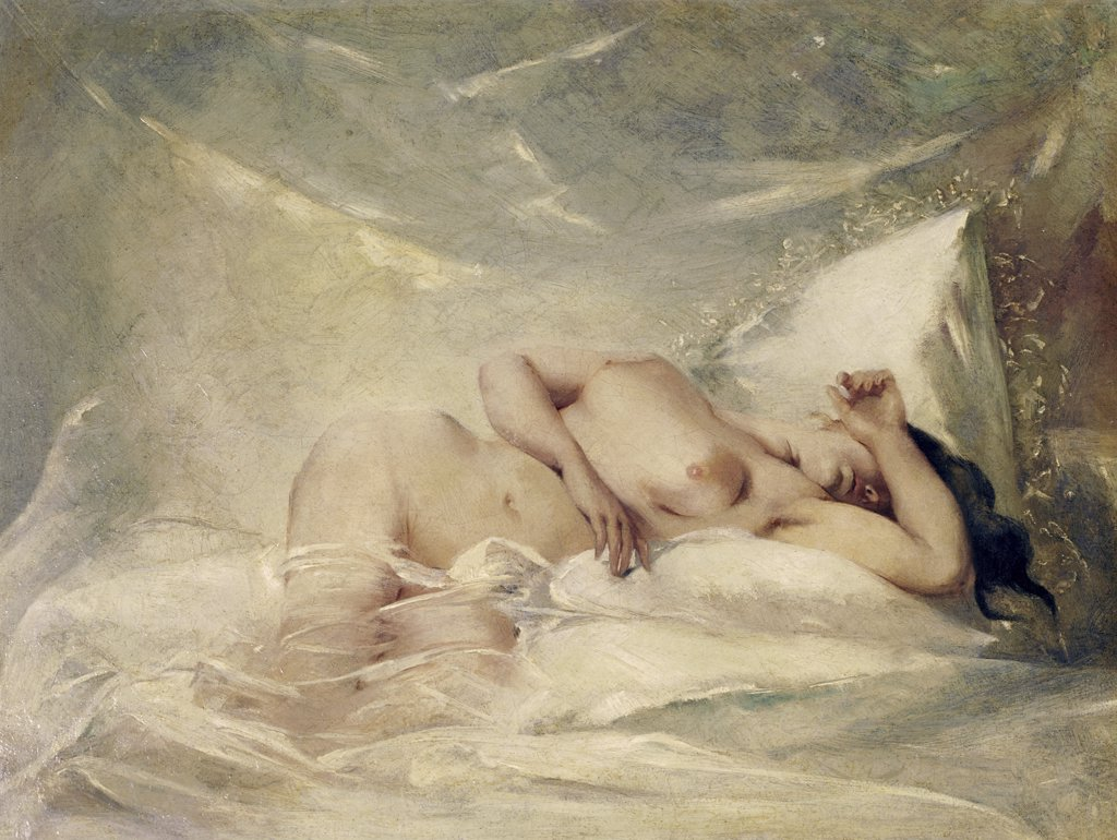 Stock Photo: 900-122003 Reclining Nude