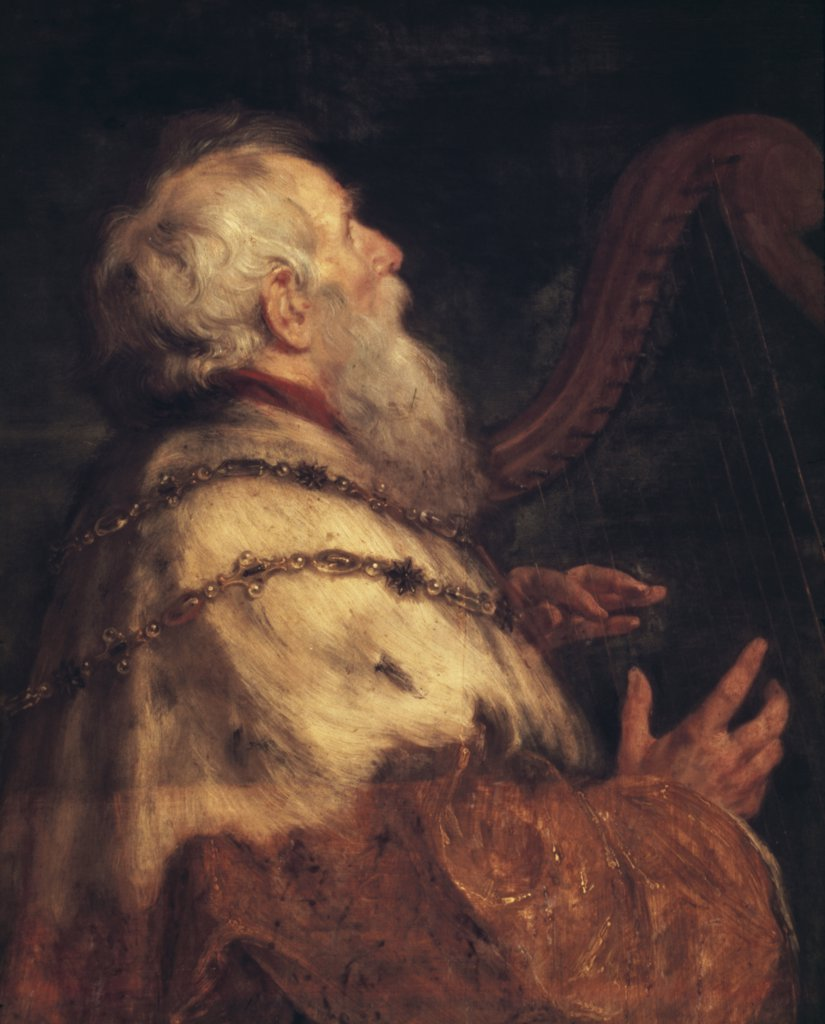 Stock Photo: 900-122074 King David