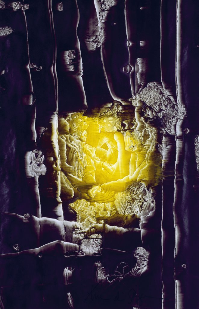 Stock Photo: 900-122683 Quest For the Yellow Rose Fulfilled by Yvon D'Anjou, 20th Century