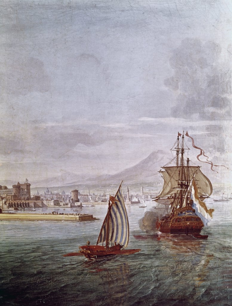 Stock Photo: 900-122812 Port of Naples