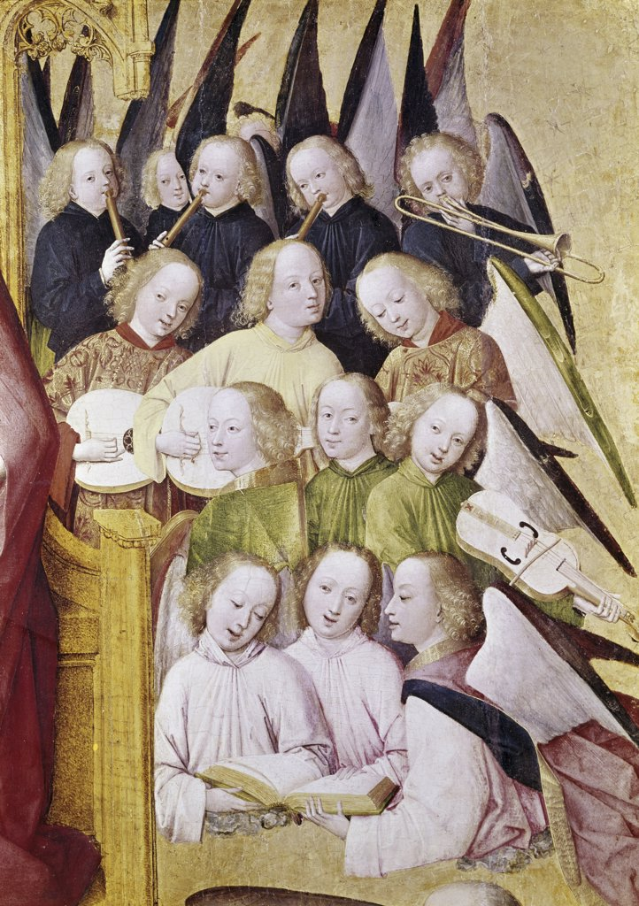 Choir of Angels (Detail)