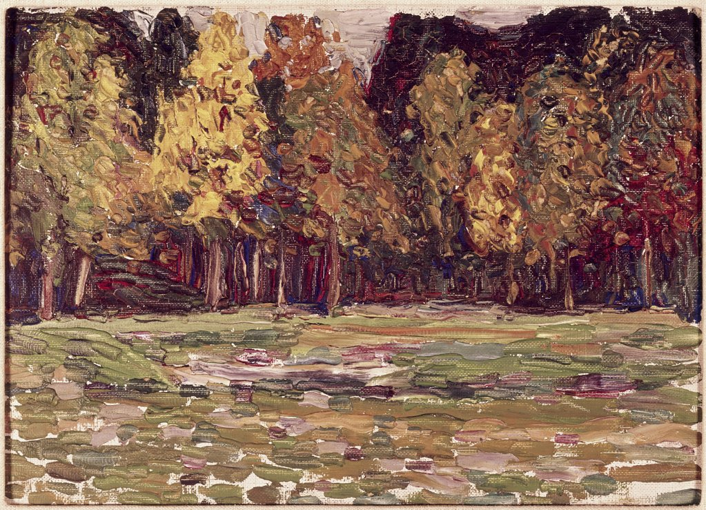 Stock Photo: 900-122997 Woods by Vasily Kandinsky, 1866-1944
