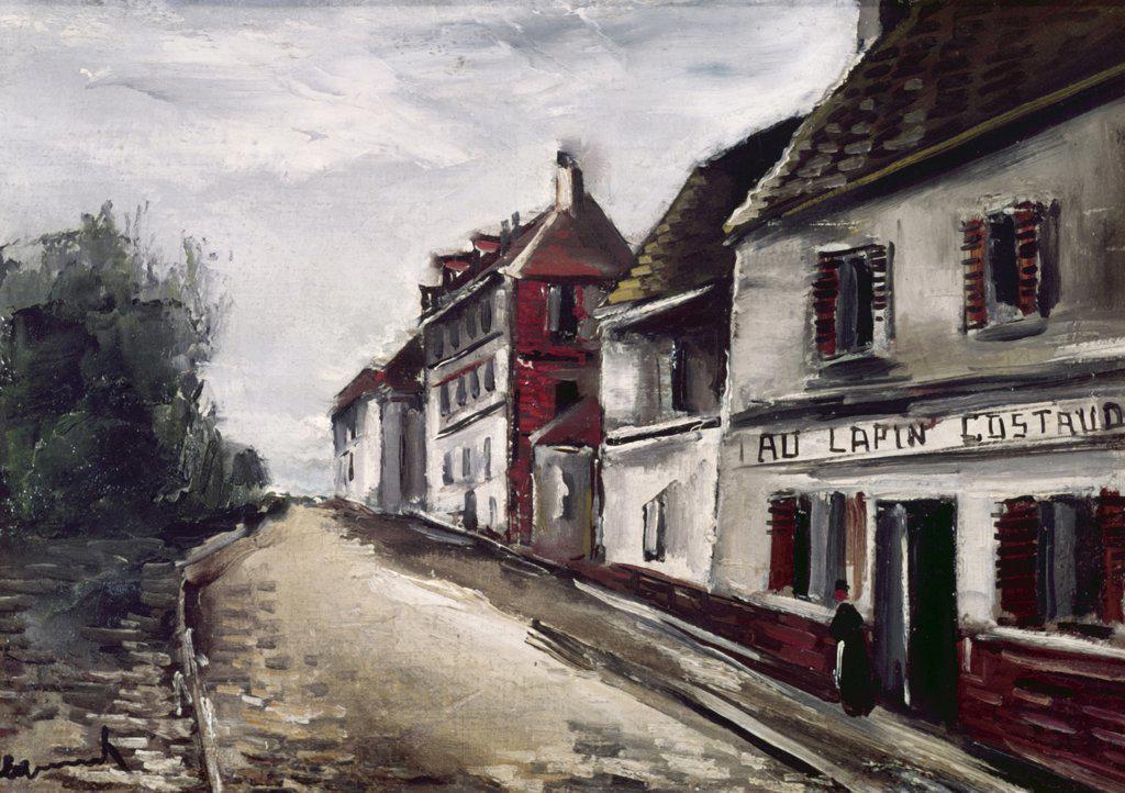Stock Photo: 900-123276 Au Lapin Costaud by Maurice de Vlaminck, 1876-1958