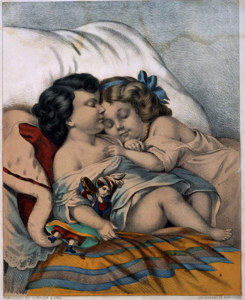Stock Photo: 900-1255 Our Pets: Fast Asleep 