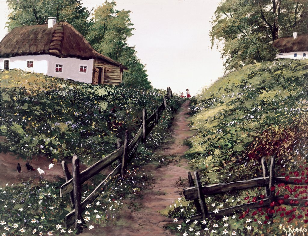 Stock Photo: 900-125886 The Path Home