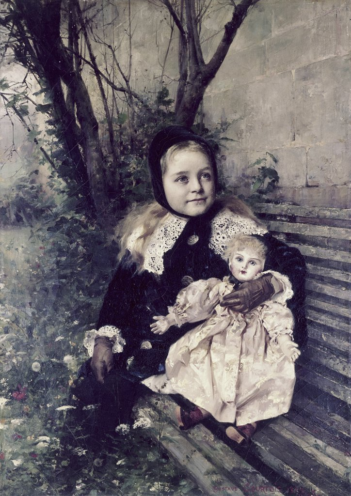 Stock Photo: 900-127860 Her Favorite Doll
