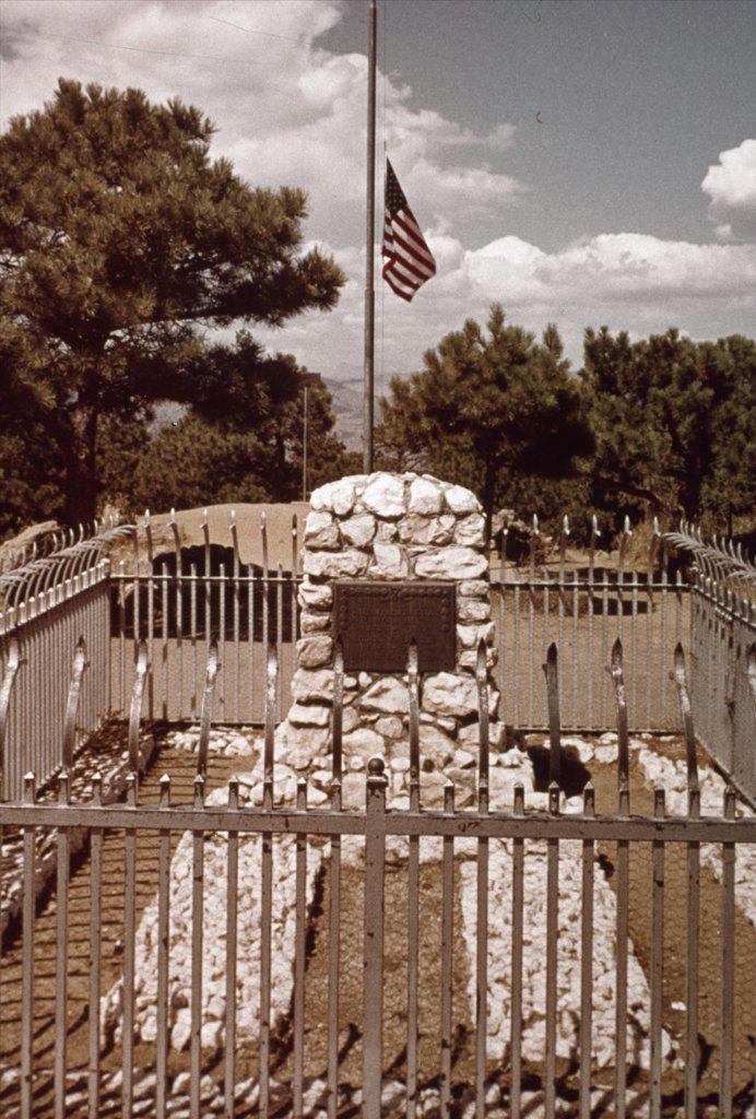 Buffalo Bill Cody's Grave,  American History : Stock Photo