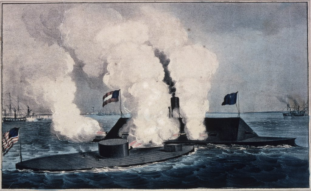 a look at the naval battle between the uss monitor and css merrimack History civil war the battle of the monitor and merrimack is famous because it was the first clash between ironclad warships this battle changed the future of naval warfare.