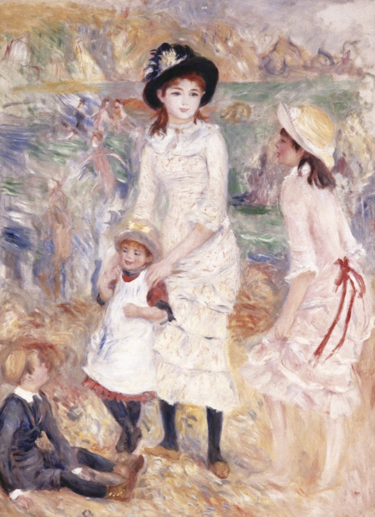Stock Photo: 900-134173 Children at the Seashore