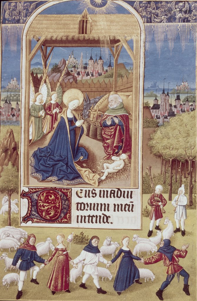 Stock Photo: 900-134376 Nativity