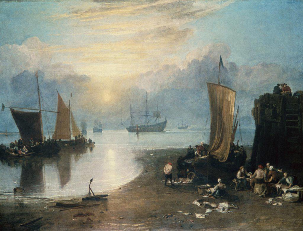 Stock Photo: 900-135607 Sun Rising Through Vapor Joseph Mallord William Turner (1775-1851 English)