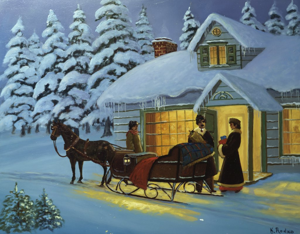 Stock Photo: 900-141265 Home for the Holidays 