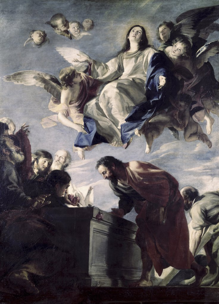 Stock Photo: 900-142283 The Ascension of the Virgin