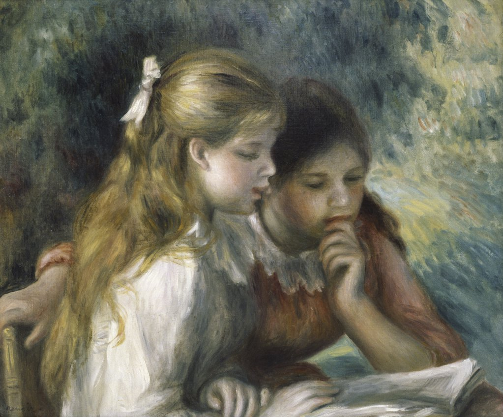 Stock Photo: 900-143696 La Lecture