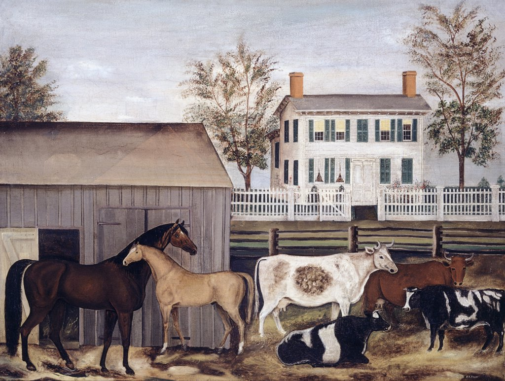 Stock Photo: 900-145556 The Barnyard