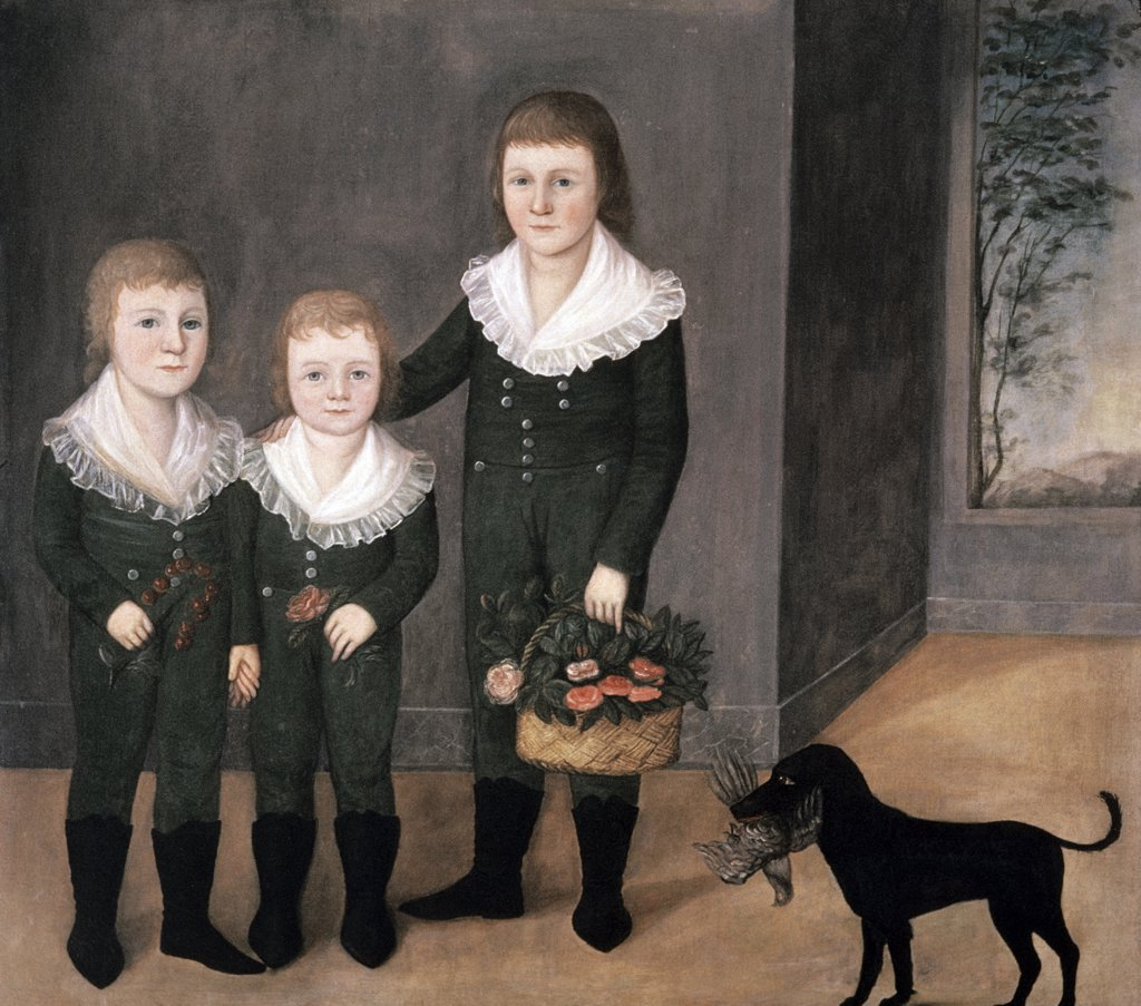 Stock Photo: 900-145653 The Westwood Children 