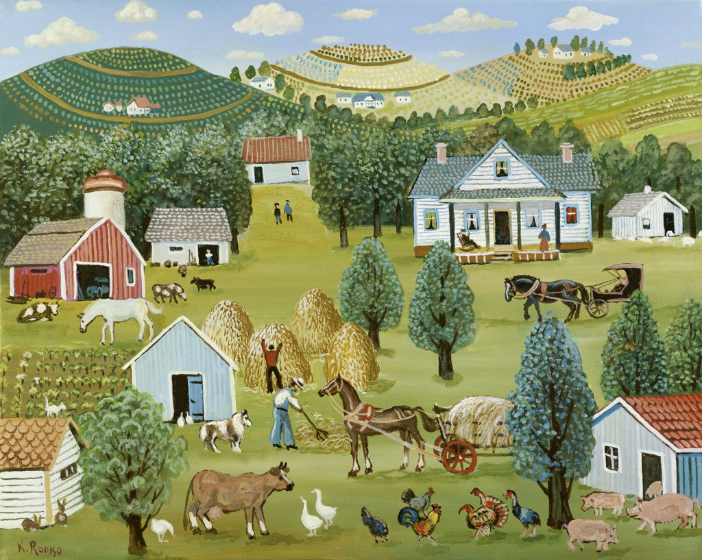 Stock Photo: 900-145721 Bountiful Farm