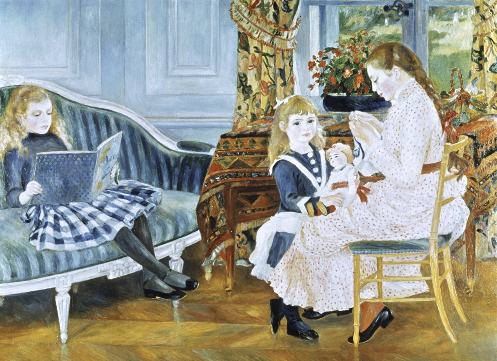 Stock Photo: 900-146089 Afternoon of the Children at Wargemont