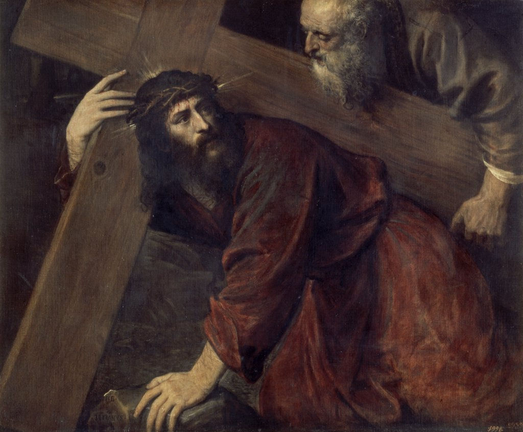 Christ & Simon the Cyrenian