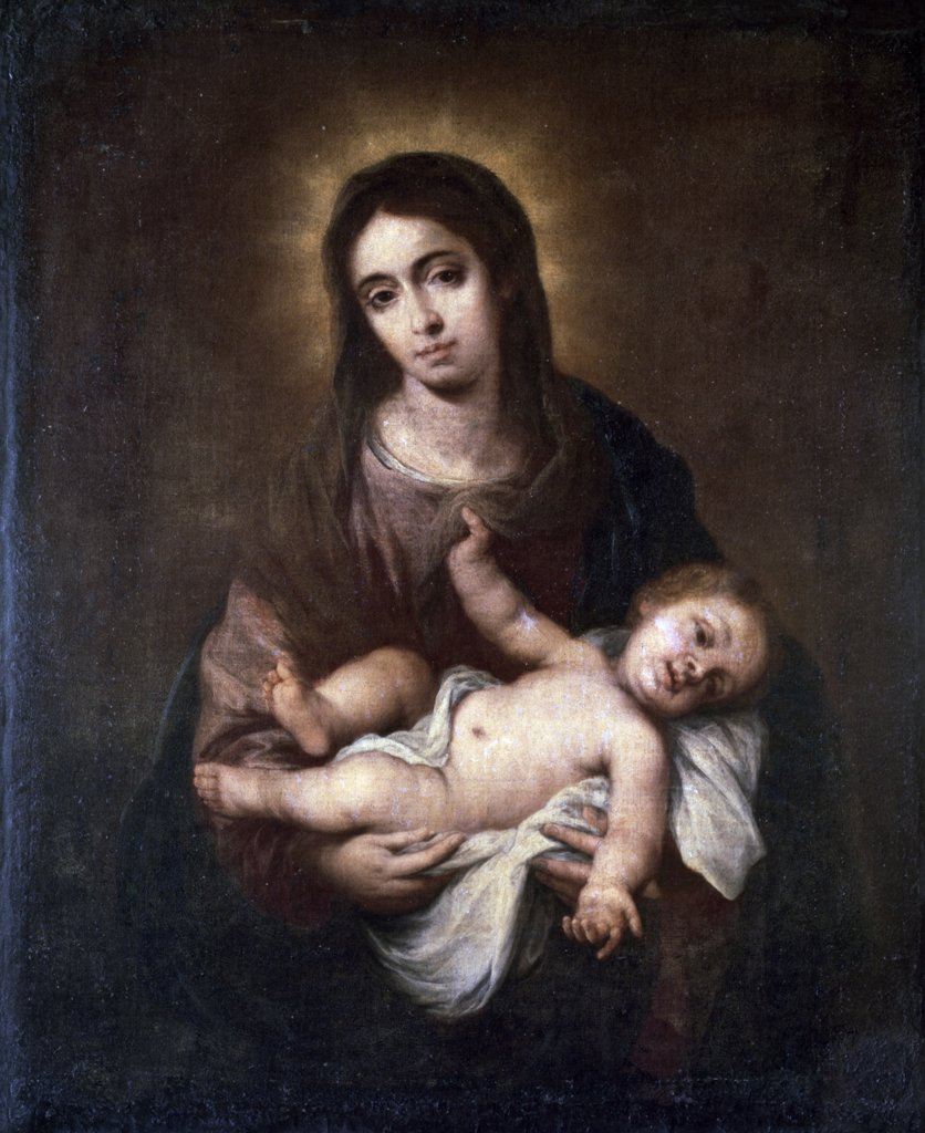 Stock Photo: 900-204 Virgin & Child #1