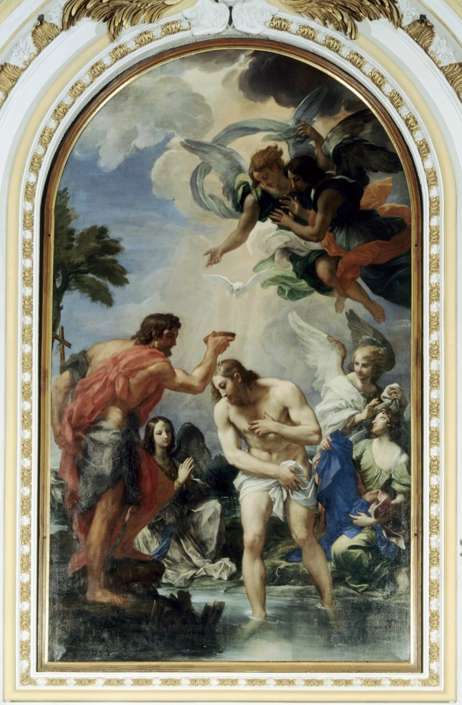 Stock Photo: 900-209 The Baptism of Christ