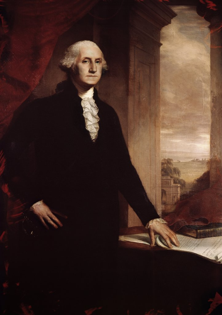 Stock Photo: 900-2361 George Washington John Vanderlyn (1775-1852 American)