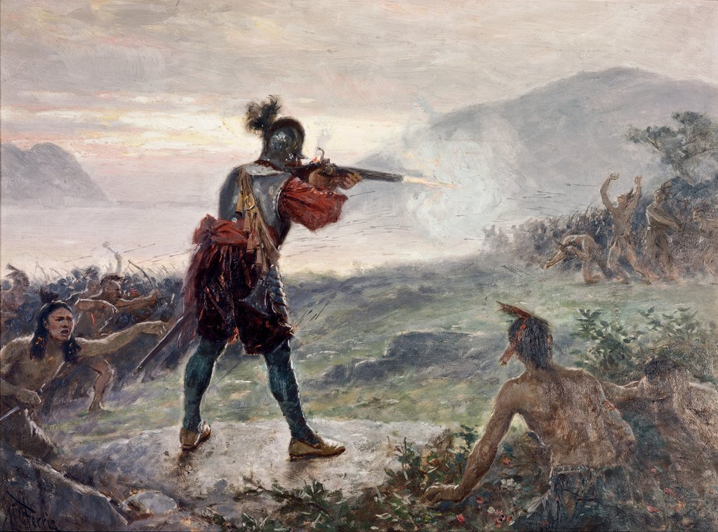 Champlain's Battle with the Iroquois