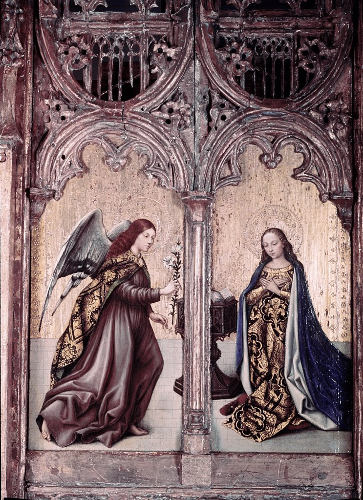 Stock Photo: 900-2866 The Annunciation