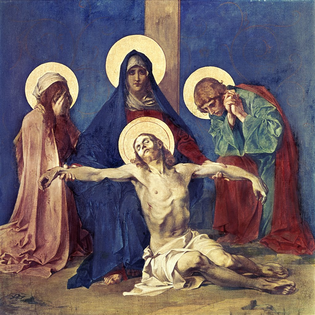 Stock Photo: 900-300 Jesus Taken Down from the Cross (13th Station Of The Cross)
