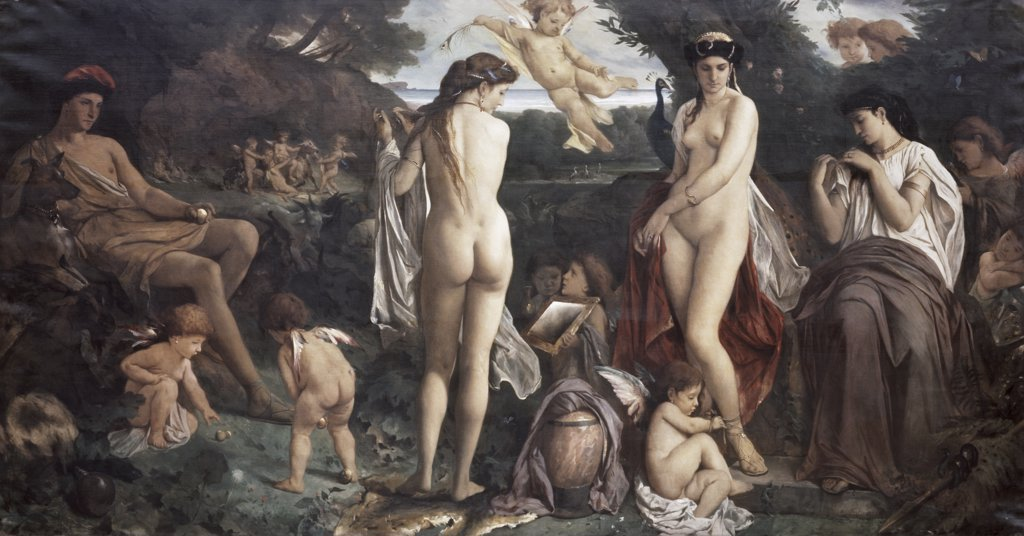 Stock Photo: 900-3289 The Judgement of Paris