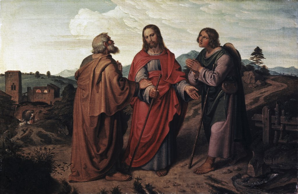 Stock Photo: 900-3314 The Walk to Emmaus