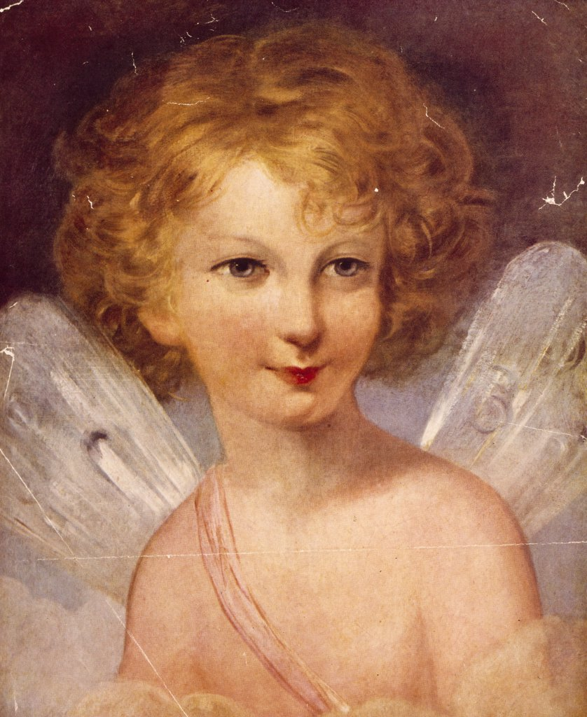 Fairy,  detail by Thomas Lawrence,  (1769-1830) : Stock Photo