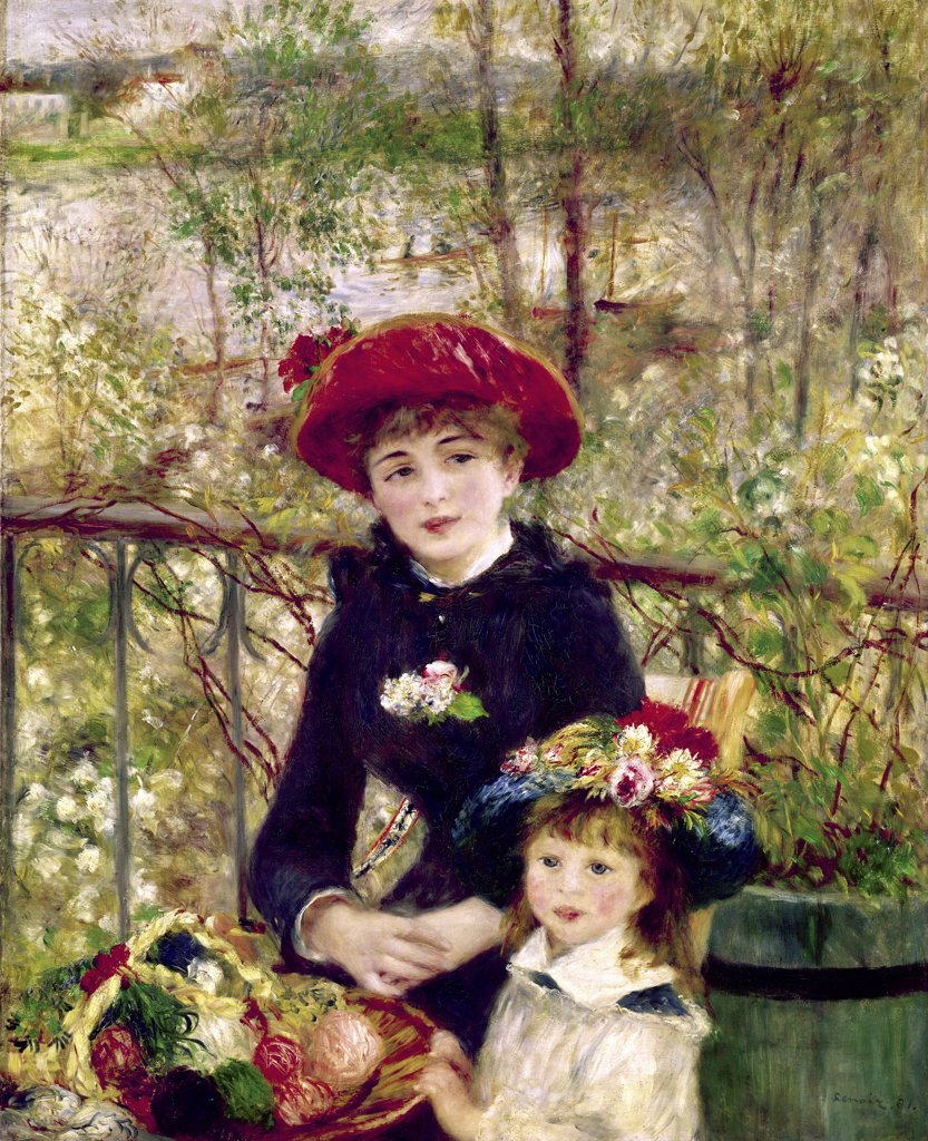 Two Sisters (On the Terrace)