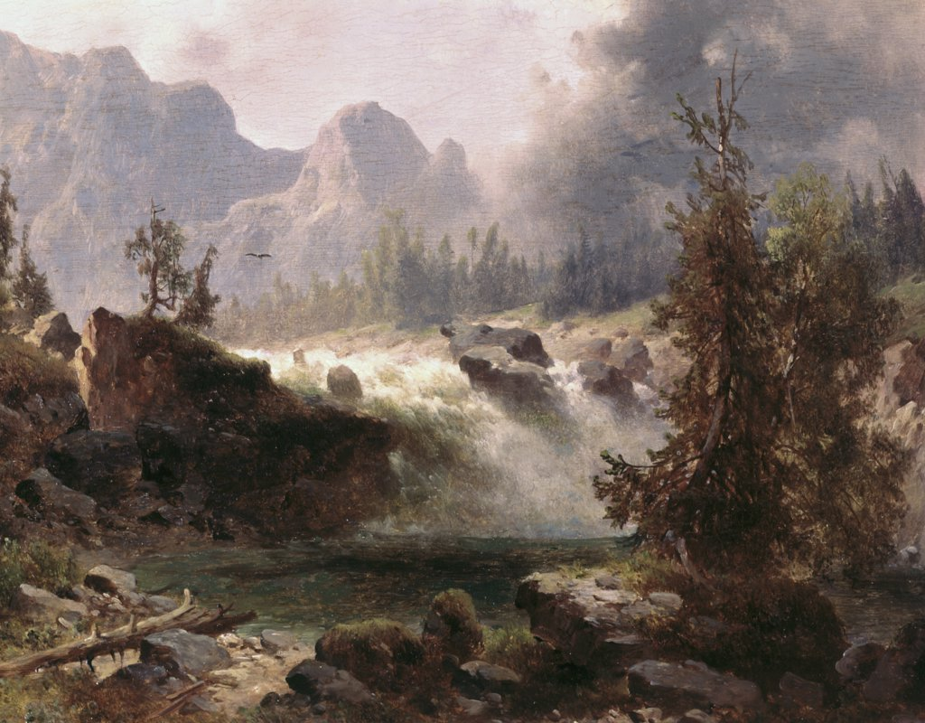 Stock Photo: 900-4118 Rocky Mountain Stream