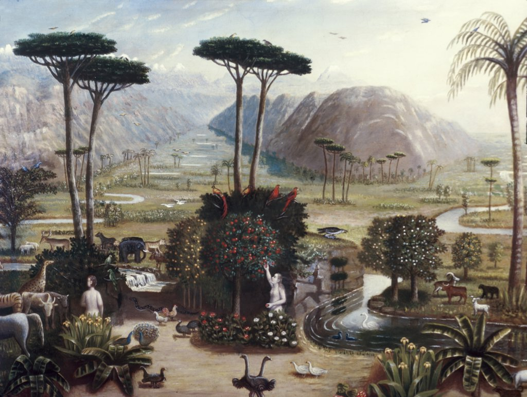 Stock Photo: 900-4216 The Garden of Eden