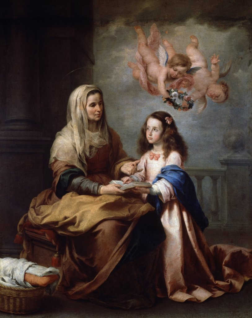 Stock Photo: 900-4244 Saint Anna and the Virgin