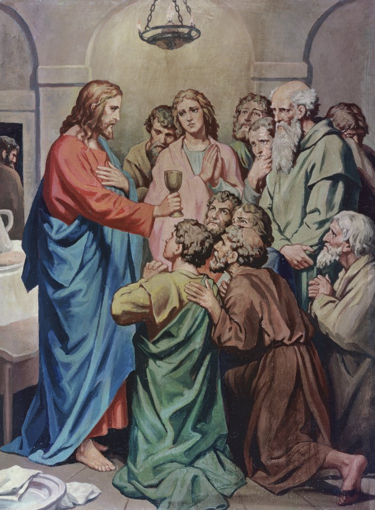 Stock Photo: 900-4743 The Last Supper