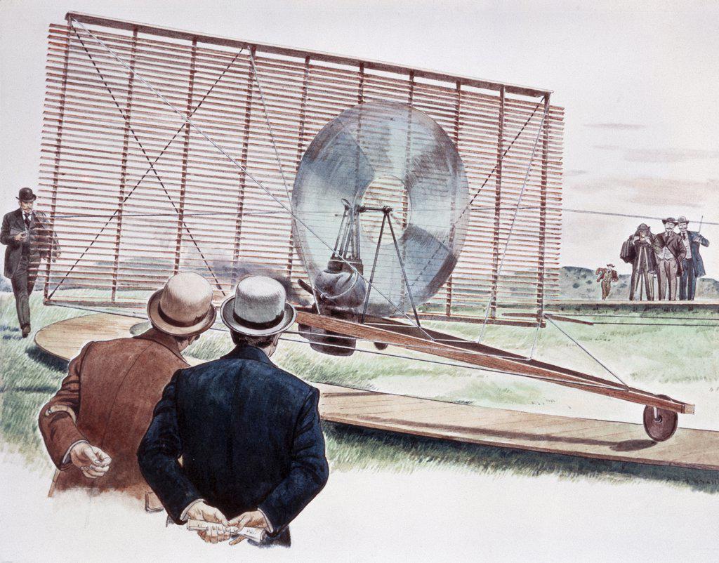 "Stock Photo: 900-4791 ""Venetian Blind"" Plane Of Phillips, 1893  Artist Unknown"