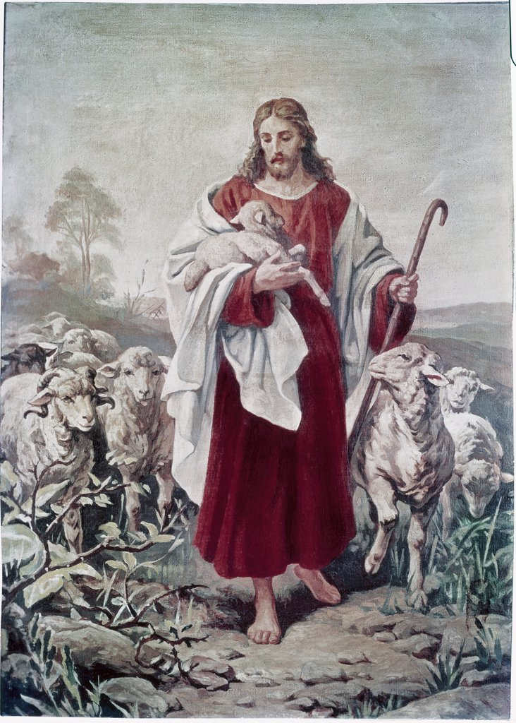 Stock Photo: 900-4849 The Good Shepherd