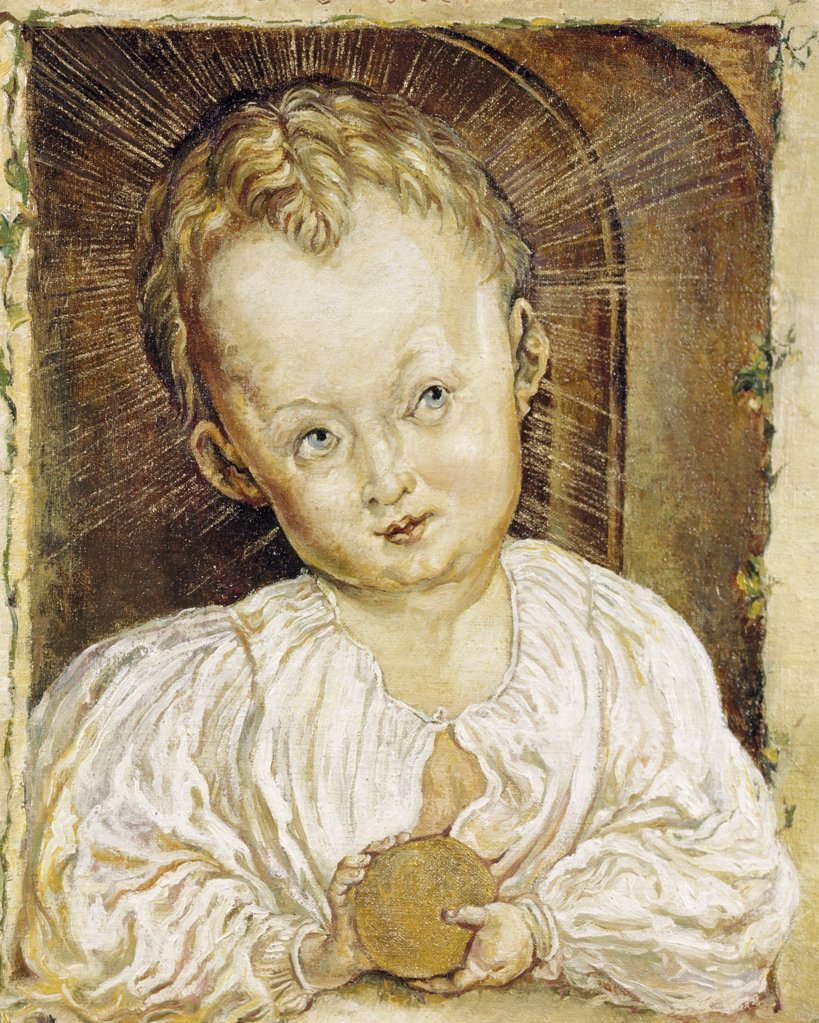 Stock Photo: 900-4965 The Boy Jesus by Gerard Anderson, after Albrecht Durer, 19th Century