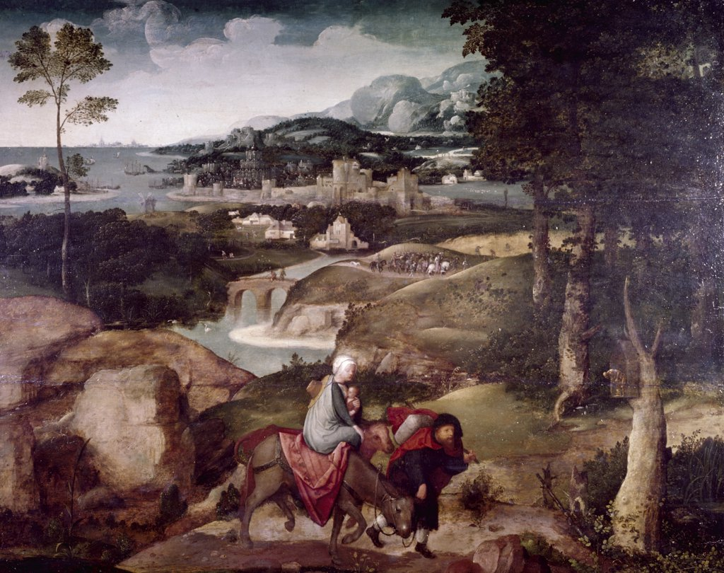 Stock Photo: 900-595961 Flight to Egypt,
