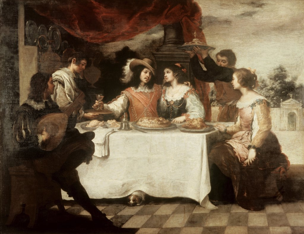 Stock Photo: 900-6083 The Banquet of the Prodigal Son