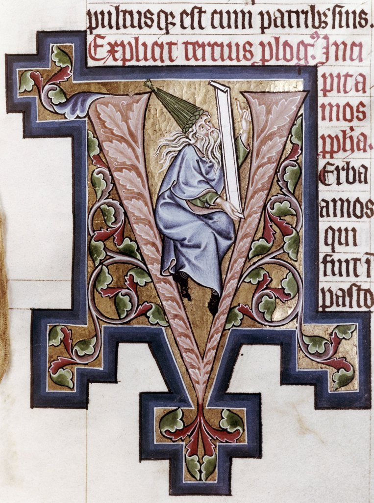Stock Photo: 900-621 Decorated Initial 