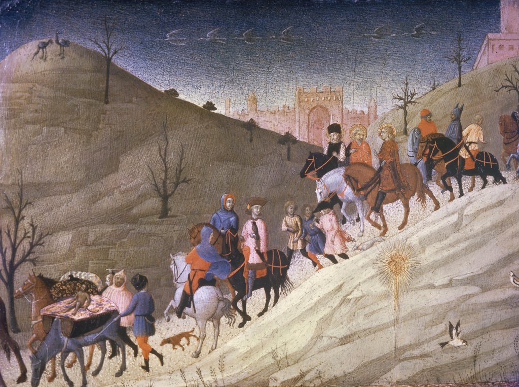 Stock Photo: 900-6226 The Journey of the Magi