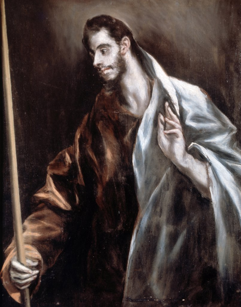 Stock Photo: 900-6317 Saint Thomas by El Greco, (1541-1614)