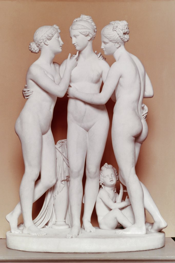 Stock Photo: 900-660 The Three Graces